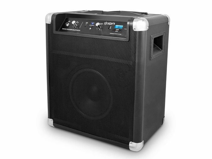 Best ION Block Rocker Bluetooth Portable Speaker System with Auxiliary USB Charger