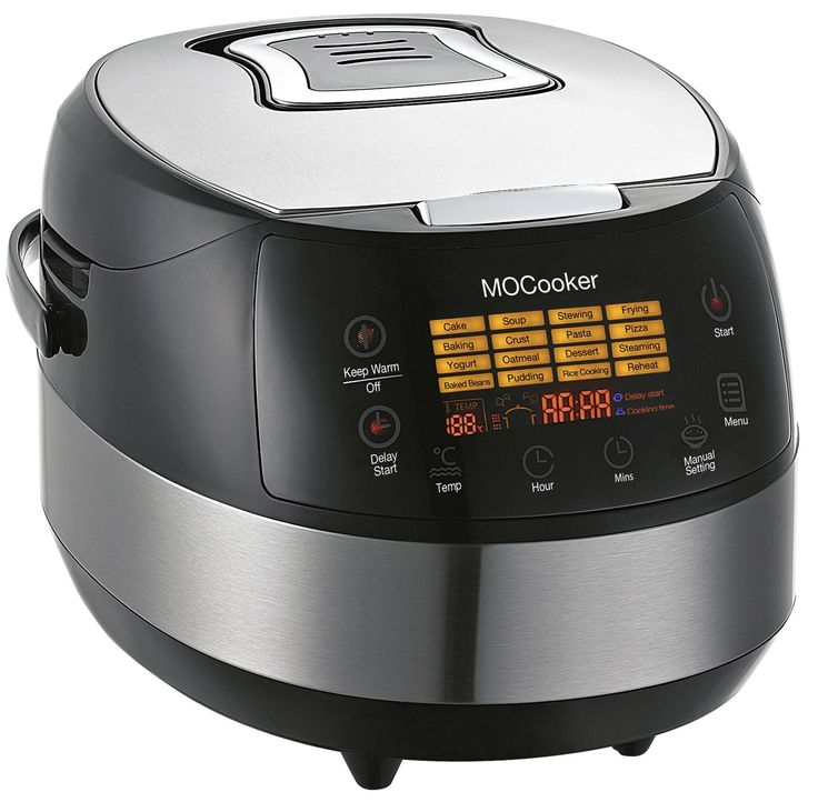 Slow Cooker 6 Quart Size w/ Heating & 16 - 1 Preset Functions - Advanced 3D Dynamic Heating - Quick Reheat - 24 Hour Delay Timer - Auto Keep Warm - Accessories Incl Slow Cooker Recipes