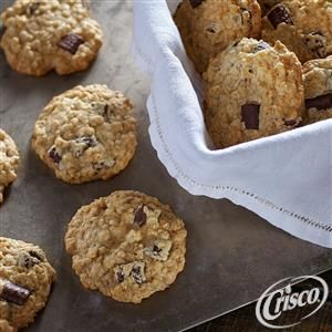 recipe: cranberry walnut oatmeal cookies crisco [24]
