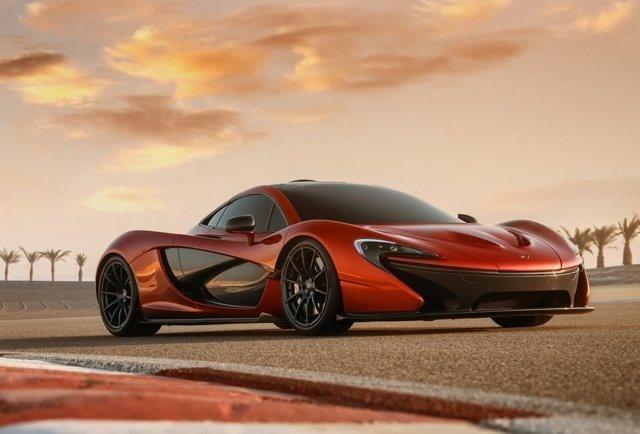 The 903 Horsepower P1 Hybrid Supercar by McLaren