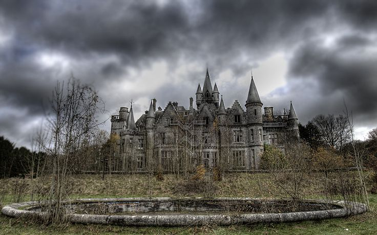Abandoned Chateau de Noisy castle school...not entirely sure where this is, but i would like to visit it