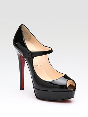 Could possibly be my most favorite thing.  I will wear them until the stiletto snaps in two.