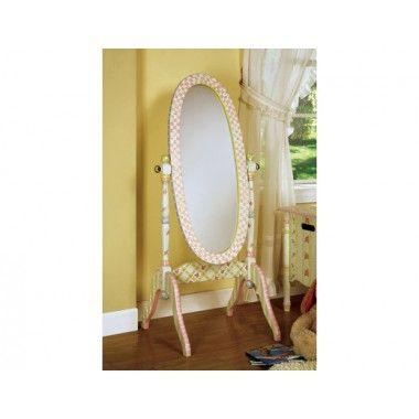 Girls Floor Standing Bedroom Mirror By Teamson Kids. It's ...
