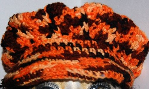 Cap, autumn colors, peaked cap, unisex cap | daffydill - Accessories on ArtFirehttp://www.artfire.com/ext/shop/product_view/daffydill/5219474/fall_colors_cap_unisex_peaked_oranges_brown_hat/handmade/accessories/hats/caps