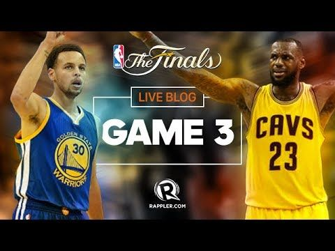 Cleveland Cavaliers vs Golden State Warriors Game 3 NBA Finals Schedule