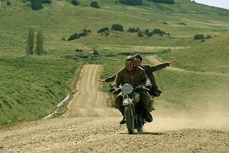 diario de motocicleta. Mi Película favorita.