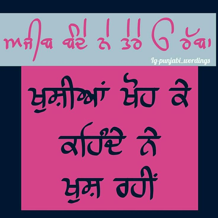 146 best punjabi images on Pinterest | Punjabi quotes, Hindi ...