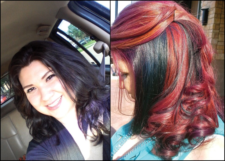 Aveda Full Spectrum Hair Color  Before Amp After  Aveda  Pinterest  Col