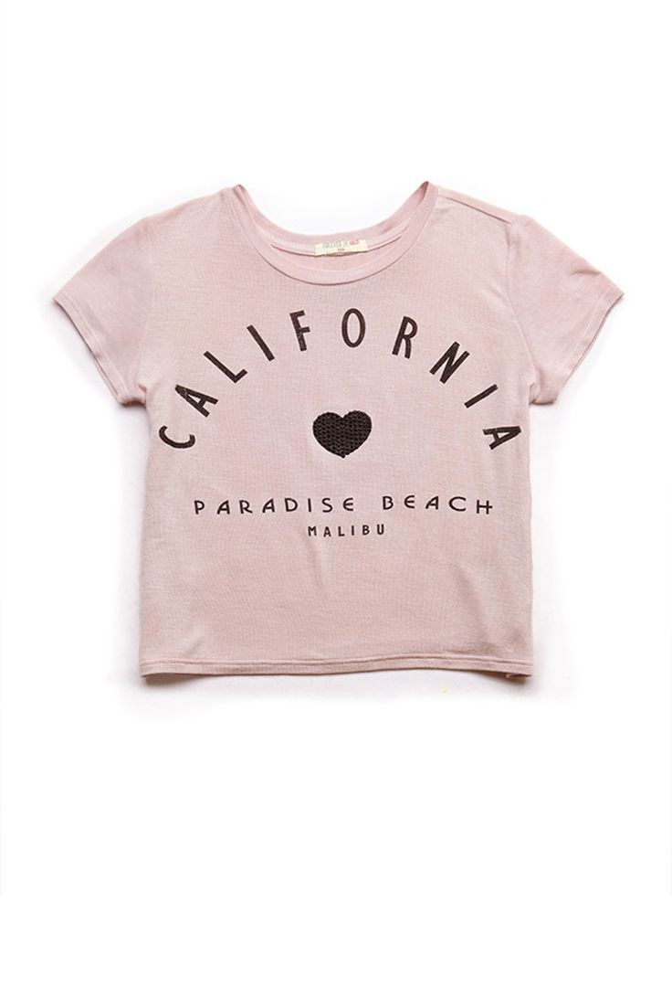 California Heart Tee (Kids) | FOREVER21 #F21Girls