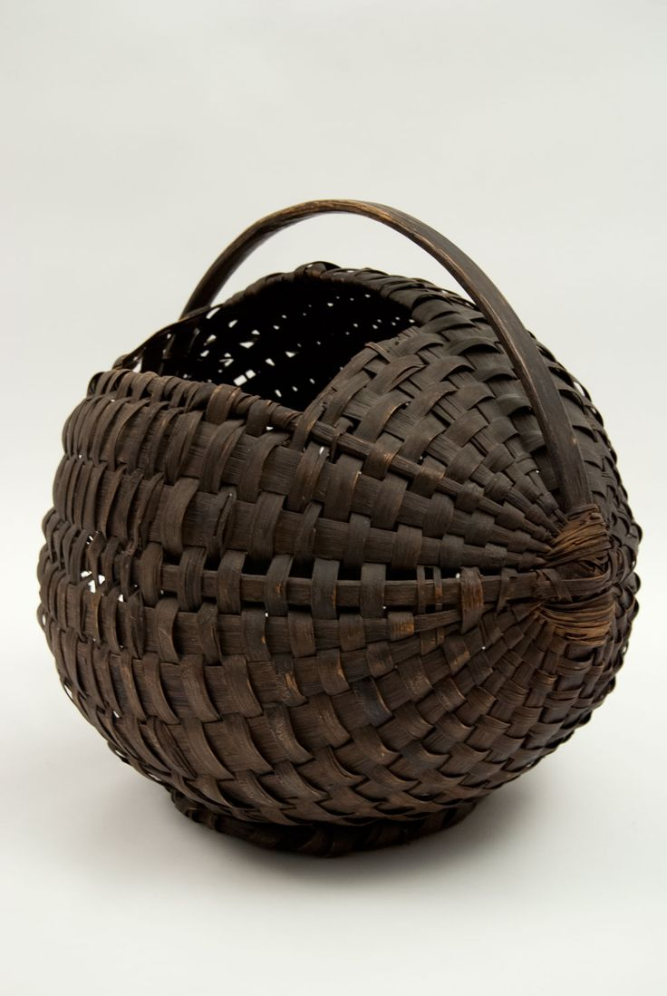 19th Century Antique American Pigeon Carrier Basket Country Primitive