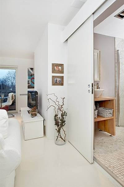Look for tiny walls or nooks - and add little pieces of art to make them feel special!