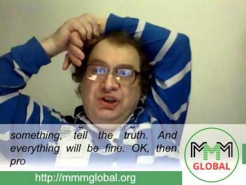 MMM Global, weekly news from Sergey Mavrodi (2015.09.20) - YouTube