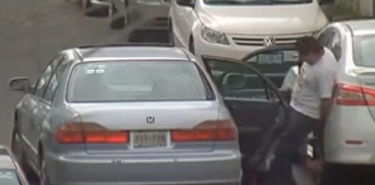 Thieves Caught On Camera Stealing Car Tires