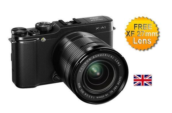 SAVE £150 + FREE 27mm Lens. Fuji A-X1 Digital Camera with XC 16-50mm Lens Kit #Fuji_Camera
