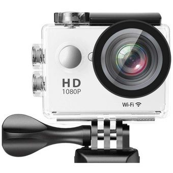 """Buy W8 Ultra HD 2"""" Wi-Fi Sports Action Camera (White) online at Lazada. Discount prices and promotional sale on all. Free Shipping."""
