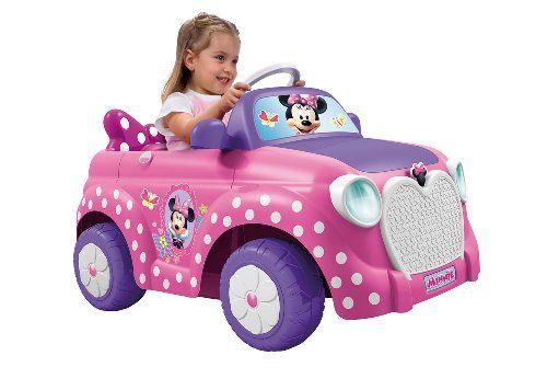 Feber Minnie Disney Voiture Electrique Pour Enfants De 3 A 6 Ans 6v Rose Famosa 800008603 Voiture Electrique Voiture Enfant Voiture Electrique Enfant
