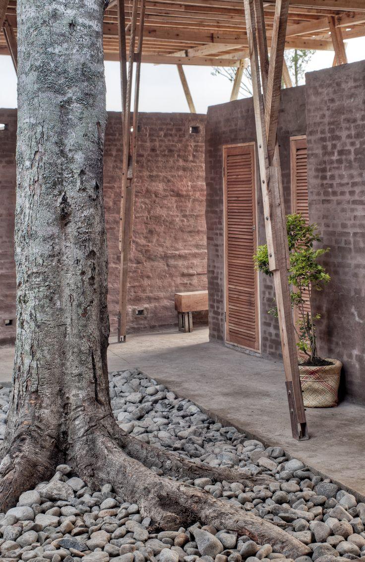 tyin tegnestue architects / cassia coop training centre, sumatra