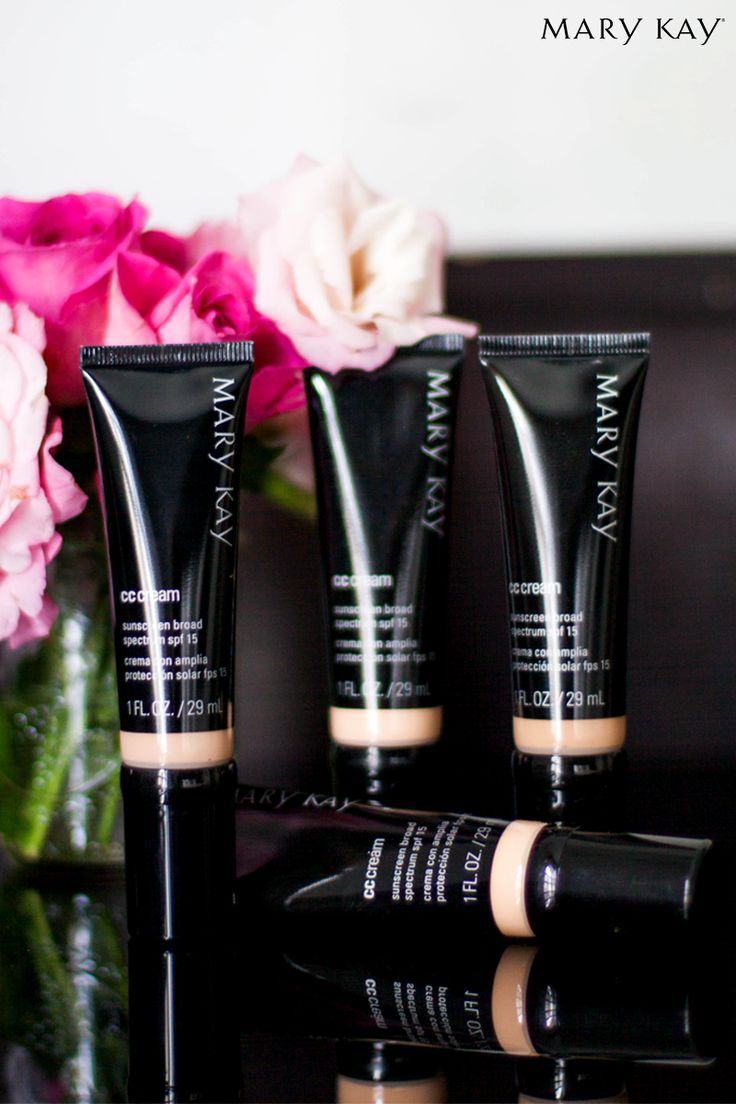 Need complexion correction and sun protection? Get a formula that acts like makeup, but is formulated like skin care with CC Cream Sunscreen Broad Spectrum SPF 15*! | Mary Kay