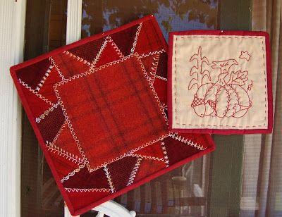 The Country Loft ~ Cathy Schmitz BOM stitchery
