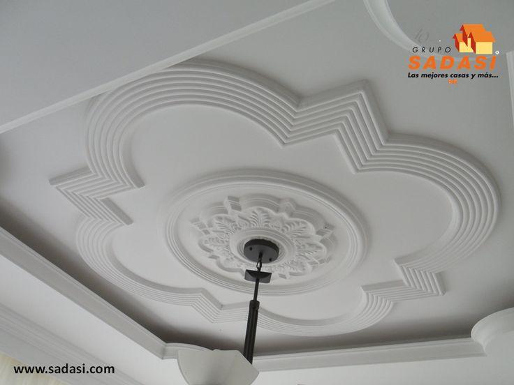 Las 25 mejores ideas sobre molduras para techos en for Molduras para techo