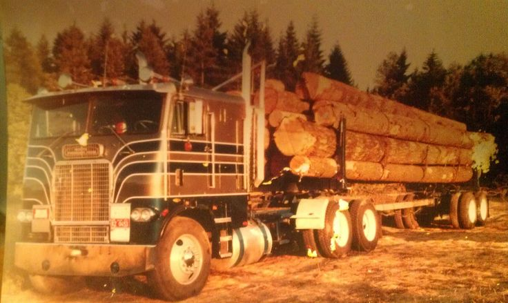 Rare Cabover Long Logger Big Rigs Pinterest
