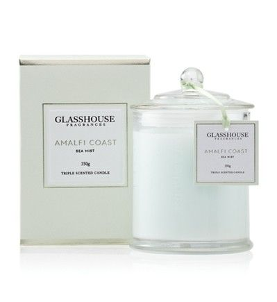 Amalfi Coast 350g #Triple #Scented #Candle. With Freesia, Lavender and Lime, it's as invigorating as an afternoon siesta.