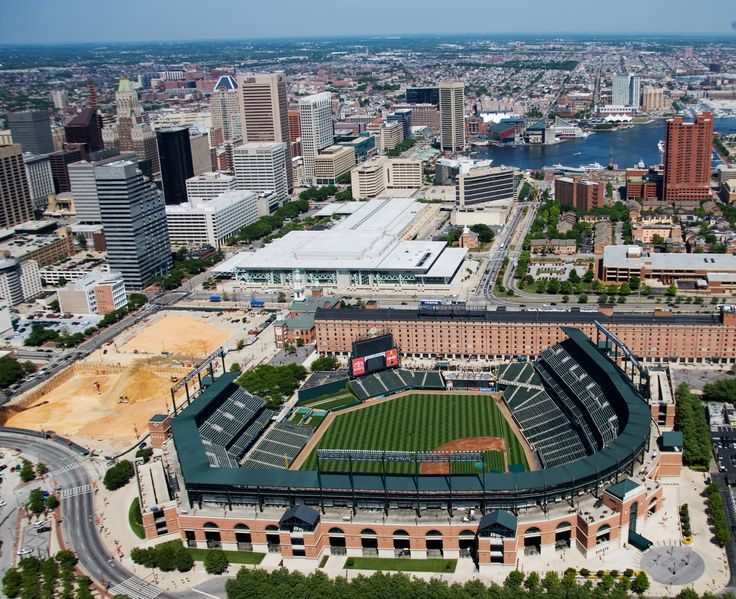 Oriole Park at Camden Yards in Baltimore, MD