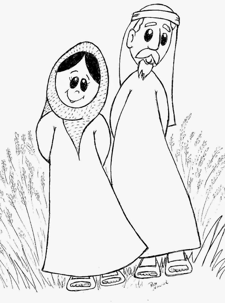 ruth gleaning coloring pages - photo#20