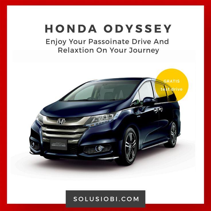 Mobil Honda Odyssey  Sebagai pribadi yang sukses, berbagai keputusan penting sehari-hari menyita perhatian dan energy Anda. Memahami berharganya waktu Anda, All New Honda Odyssey hadir untuk memanjakan Anda . . .