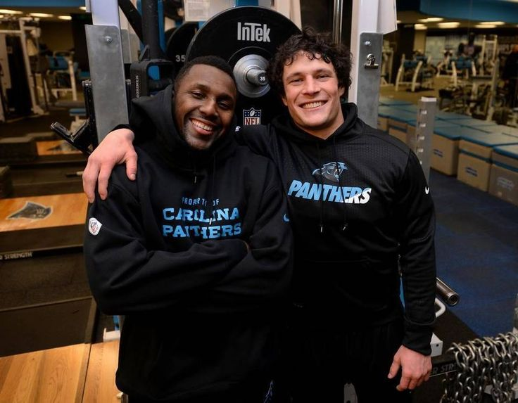 Thomas Davis (left) and Luke Kuechly push, inspire and complement each other as leaders of the Panthers defense.
