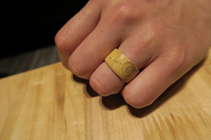 woodknot ring