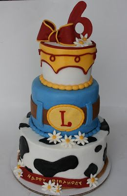 And Everything Sweet: Jessie Cake (Toy Story)