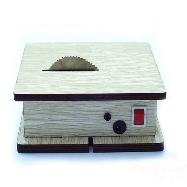 Free shipping, competitive price and trustworthy merchant. Mini DIY Desktop Saw Cutting Plastic Wood 775 Motor Drive 7 Gear Power