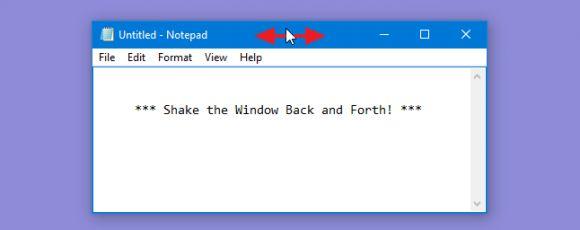 How to Stop Aero Shake from Minimizing Your Windows