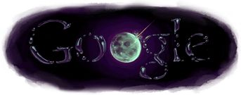 Nov 13, 2009 Discovery of Water on the Moon Google Doodle