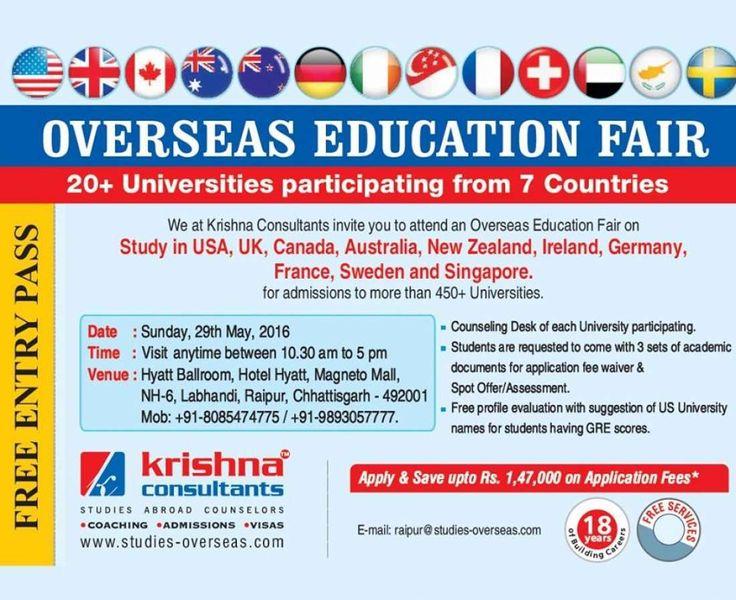Overseas Education Fair Raipur 2016