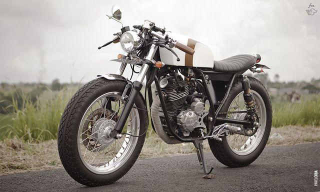 Yamaha Cafe Racer 225cc Scorpio Thumper, by Zui Customs of Bali