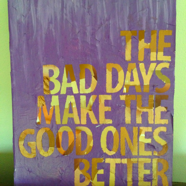 Quote on canvas 1
