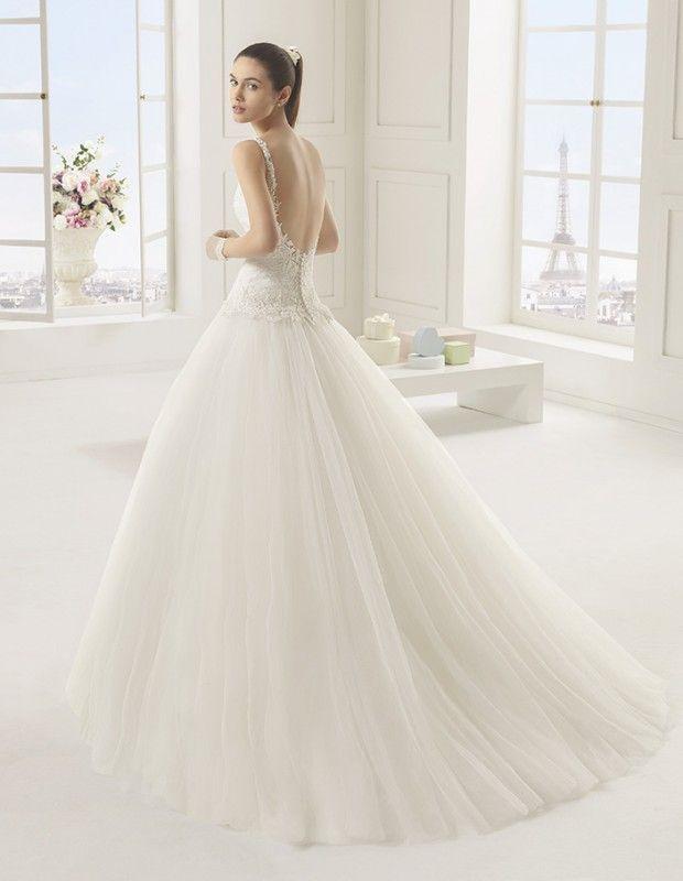 coeur en tulle plissé robes de mariées robes de mariée à marseille ...