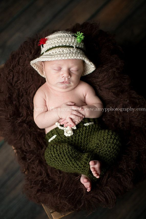 Fly Fishing Baby Hat Off White Baby Boy Hat by CreativeDragonfly, $22.50