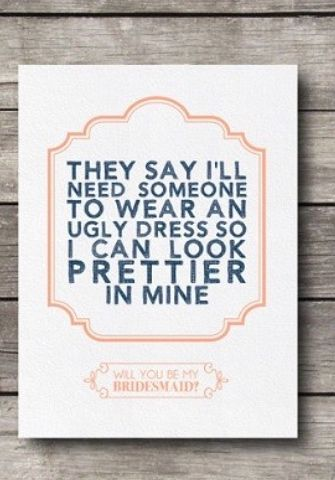 20 best images about wedding stuff on Pinterest | Ask bridesmaids ...
