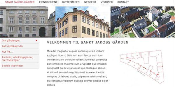 Webdesign og programmering (Joomla) til boligforening