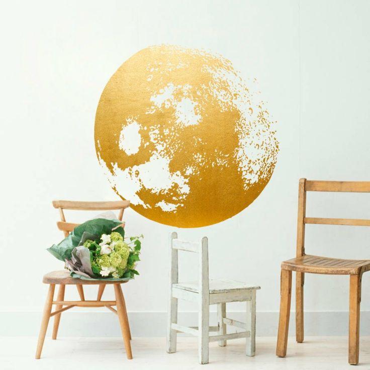 Die besten 25+ Wandtattoos wohnzimmer Ideen auf Pinterest - wohnzimmer deko gold