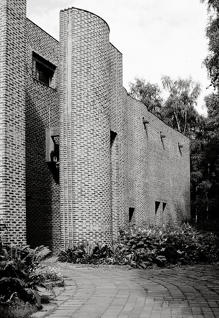 Sigurd Lewerentz. St. Mark's Church, Bjorkhagen. 1956-1963