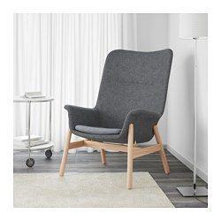 IKEA - VEDBO, Sillón con respaldo alto, , Gracias a su diseño intemporal, VEDBO es fácil de combinar con muebles y ambientes de diferentes estilos.10 años de garantía. Consulta las condiciones en el folleto de garantía.
