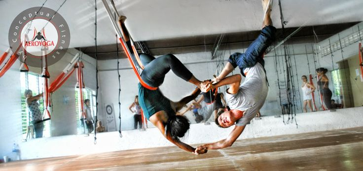 aerial yoga, Aerial Yoga: ACROBATIC POSE FOR COUPLES WE #LOVE #FLYING !! #aeroyoga #aerial #aero #air #air #aire #suspension #training #teachertraining #students #pos #yoga #pilates #fitness #sport #certificacion #diploma #formacion #aerien #luft #airetiko #aerialpilates #swing #curso #workshop #video #fly