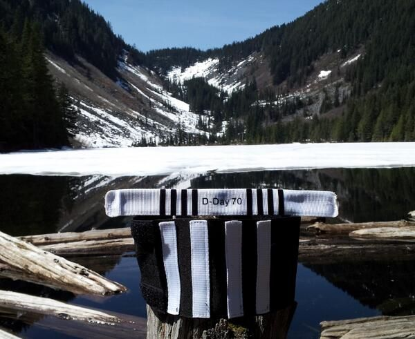Chad from Seattle sent us this lovely D-Day Striped landscape pic. (That's better than the view from our office!)