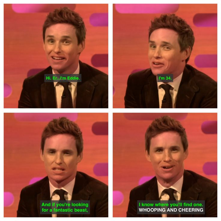 Eddie redmayne funny fit chat up lines hot sexy graham Norton show fantastic beasts and where to find them jk Rowling Harry Potter