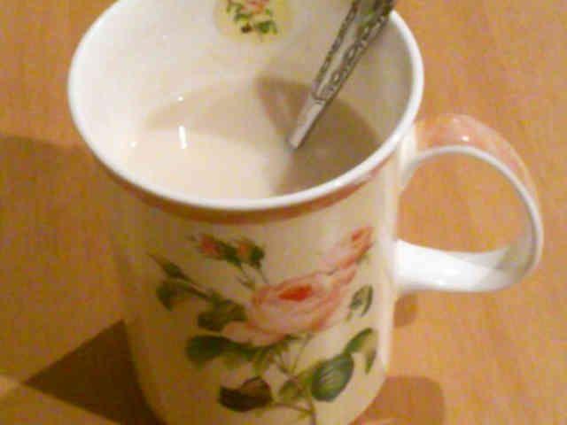 ◇妊婦さん応援◇ 麦茶ラテの画像