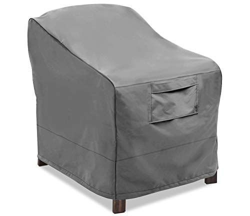 chair covers waterproof stool for toilet vailge patio lounge deep seat cover heavy duty and outdoor lawn furniture large grey